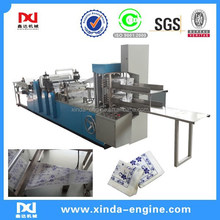 300mm 330mm 1/4 1/8 folding 2 color printing high speed automatic napkin tissue paper folding machine NP7000K