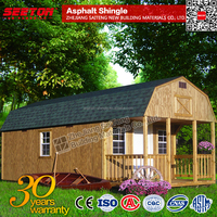 Latest Building Materials Green Cheap Asphalt Shingles