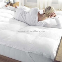 China specializing in the production of wholesale 100% cotton fabric for used hotel bed sheets