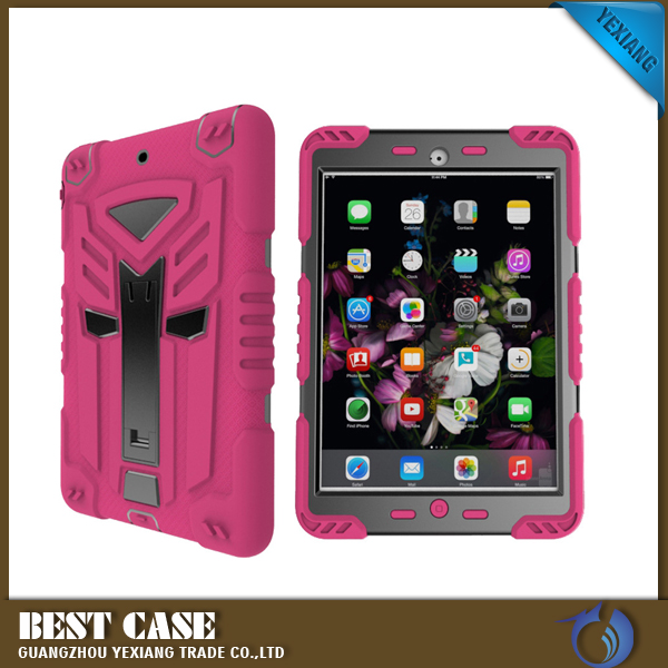 Guangzhou hot selling rpbpt deisgn 2 in 1 shockpproof back cover for iPad mini 4 case