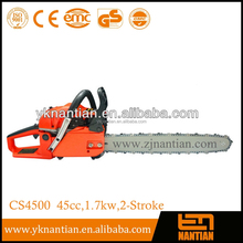 German chainsaw 45cc CE Approved Gosoline Chain Saw 4500