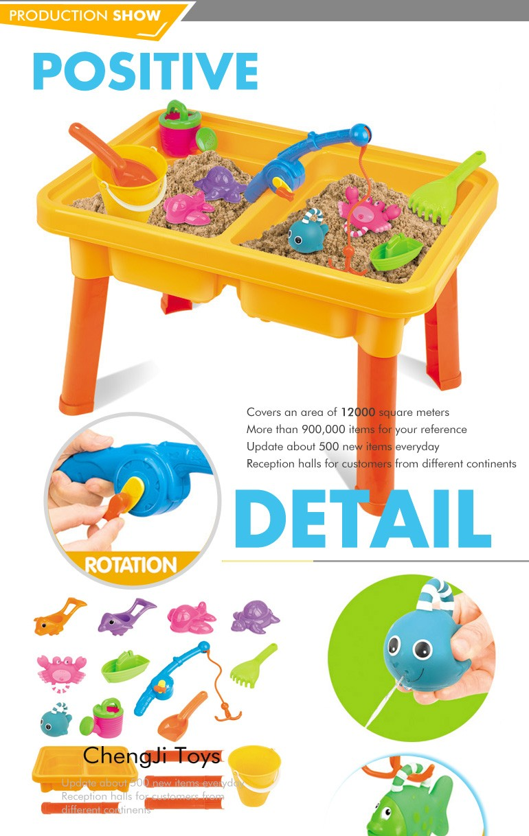 Bland new plastic sand and water kids fishing toy for children