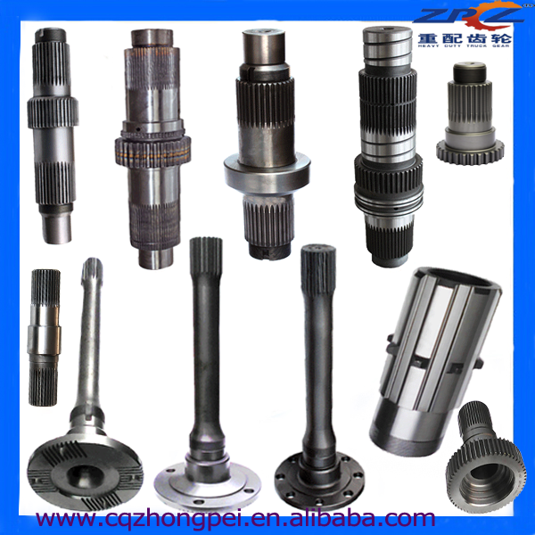 Steel Spare Parts Gears And Axles For Heavy Duty Trucks