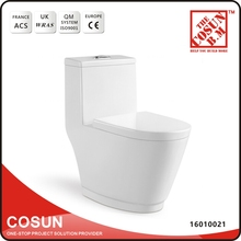 Italian Sanitary Ware Color Ivory Siphon Flushing Toilet