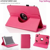 Cute 360 Rotating PU Leather Universal Tablet Case