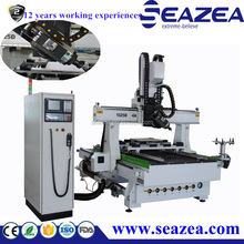 China professional 4 axis CNC router machine with ATC, atc engraving machine, wood cnc router price for mold