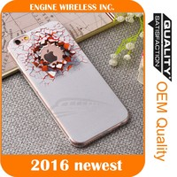 Shockproof Rugged Hybrid Rubber TPU Pattern Case Cover tpu case for iphone 5