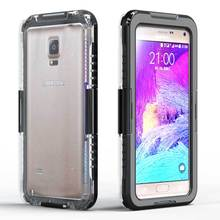 Swimming Waterproof Shockproof Phone Case For Samsung Galaxy Note 5 4 3 2