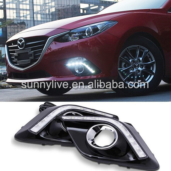 Mazda 3 Axela LED DRL Daytime Running Light 2014 Year