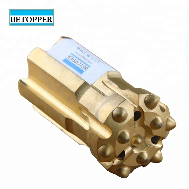 Betopper <strong>manufacturing</strong> T38 retrac thread button drill bit for Mining or rock