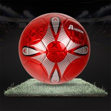 Official size and weight professional soccer ball/match football/top quality soccer ball