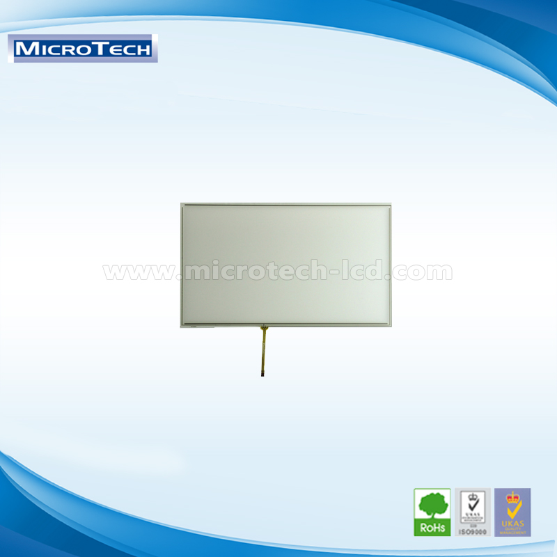 12.1 inch resistive touch screen panel 5 Wire 1.0 Pitch 4 PIN