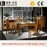 Direct Manufacturer Pictures Of Wooden Dining Table With Drawers