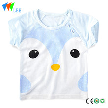 summer cute baby rounded hem t shirt fashion design