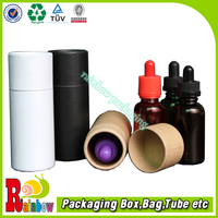 customized cylinder shaped essential oil packaging boxes