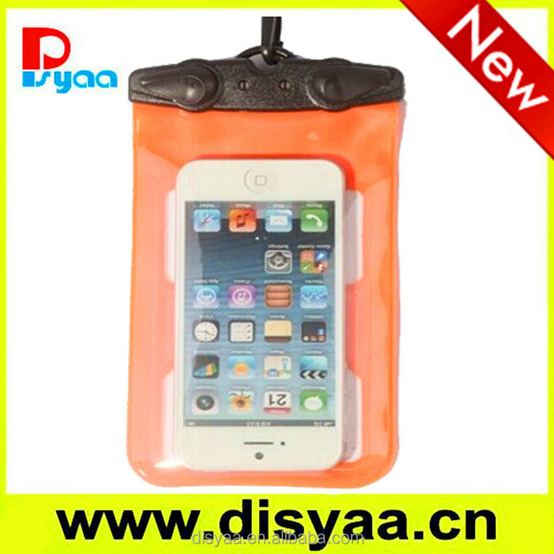 2014 Hot Selling Mobile Phone Pvc Waterproof Bag,Pvc Phone Waterproof Case