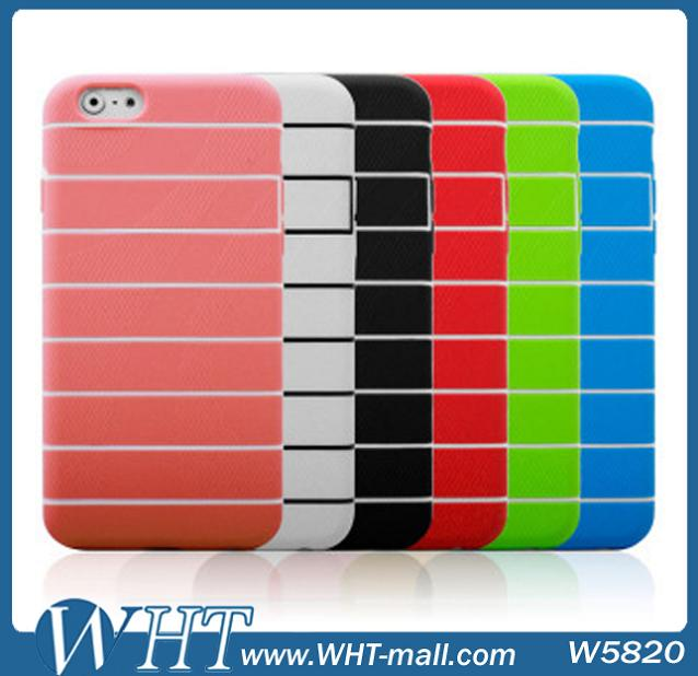 Cheap Chinese Mobile Phone Accessory Soft TPU Silicon Cover for iPhone 6 4.7 Inch