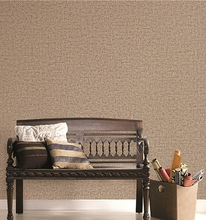 Pure color soundproof retro wallpaper gray vinyl wallcovering manufacturer