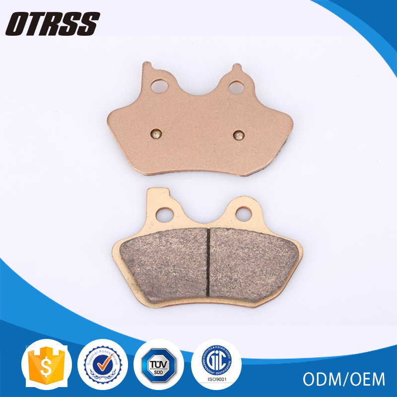 Highest durability sintered copper disc friendly metal rear break pads motorcycle