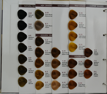 Hot sale & high quality iso hair color chart