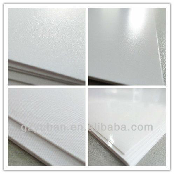 wholesale china full color glossy a4 inkjet printable pvc card for printer