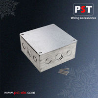 Best Price GI Metal Electrical Switch adaptable box with cover