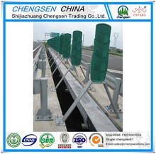 Building Material security vehicle guardrail