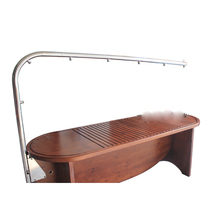 Beauty equipment wooden shower bed hydrotherapy spa equipment