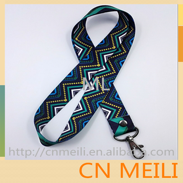 Hot-selling lanyard with custom logo polyester lanyard made in china factory