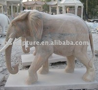 marble elephant sculpture(factory)