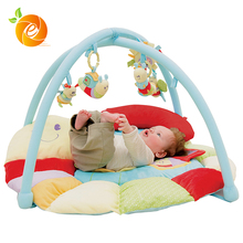 Custom Wholesale Baby Play Gym with Plush Toys with Projector