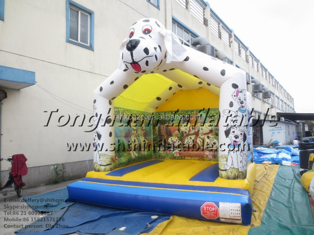 inflatable dog bouncer/jumping bouncer