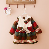 Guangzhou Clothing Factory Christmas Boutique Girl Clothing Baby Winter Dress