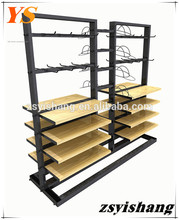 Shopping centre metal retail dress display rack with Yishang