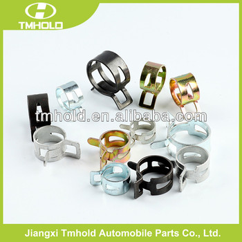 6mm bandwidth Spring band hose clamp with 6,8,10,12,15mm bandwidth