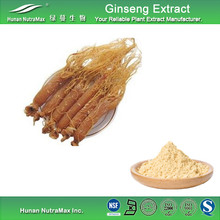 Low Pesticides 2% Ginsenosides Red Ginseng Root Extract