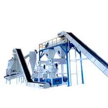 China Manufacturer CE Approve Rice Husk Pellet Making Machine