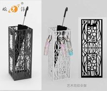 Fashion Hollow hotel Multifunction metal umbrella stand