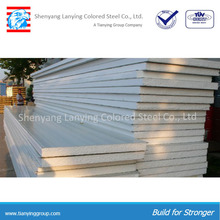 Roof sandwich panel with high density polystyrene