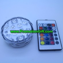 Remote controlled LED underwater light