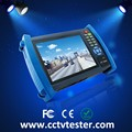 "7 ""Touch screen IP AHD camera tester CCTV tester"