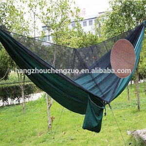 Hot Selling Anti mosquito net Hammock, CZD-037 Double Person Hammock with Mosquito Net,Parachute Fabric Double Hammock Tent