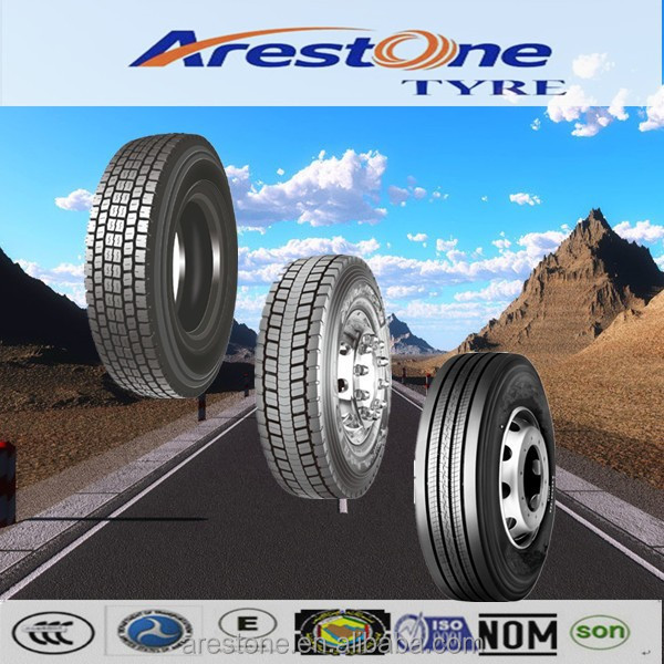 ARESTONE brand Trade Assurance China heavy duty truck tyre 315/80R22.5 suitable for minning
