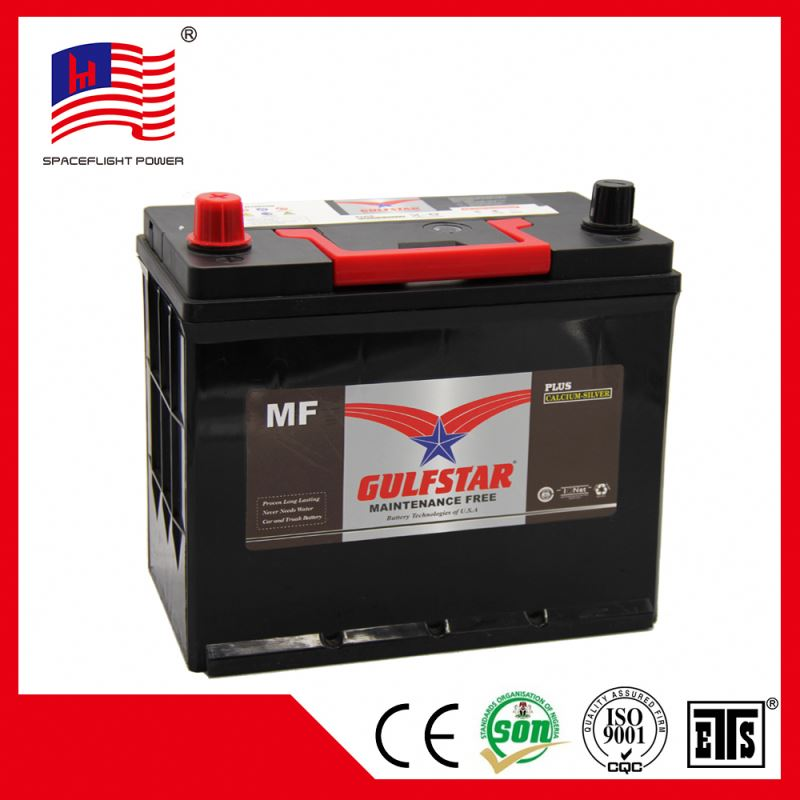 korean design JIS series 12V45AH Global car battery wholesale