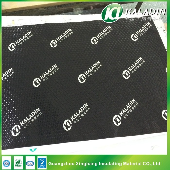 Hot sale black butyl rubber car sound deadening pad