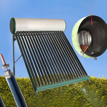 Compact Pressure Solar Hot Water Heater