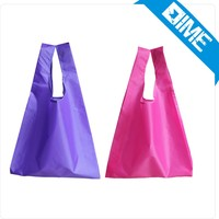 Promotional High Quality 190T Polyester Printed Foldable Shopping Bag