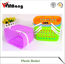 Winbang OEM Small Plastic Shopping Basket with Handle