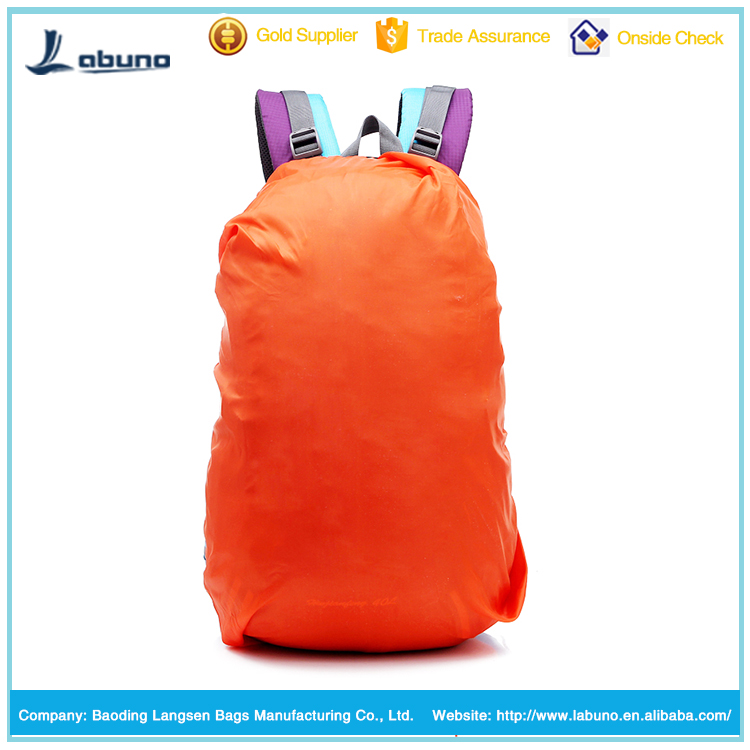 Wholesale hot sale waterproof school bag rain cover overall trolley bags Dust Covers rain covers for backpack