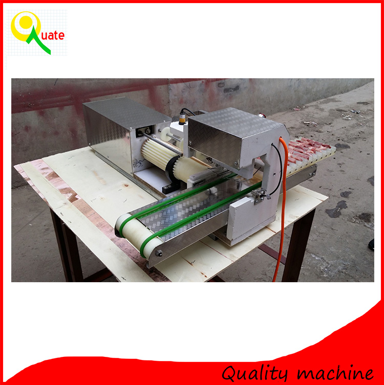 2016Hot Selling chicken kebab making machine/automatic meat skewers machine/doner kebab